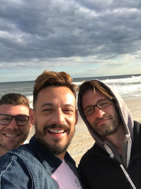 Gerald, Carlos, and Ed