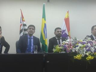 Câmara homenageia Marcelo Teixeira em sessão solene