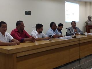 Reunião com EMTU discute melhorias ao transporte público de São Vicente