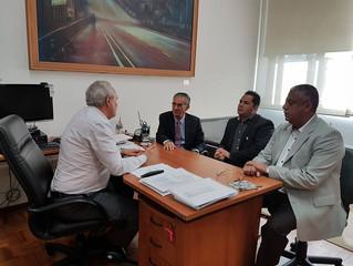 Comissão de vereadores vai a São Paulo em busca de Poupa Tempo para São Vicente