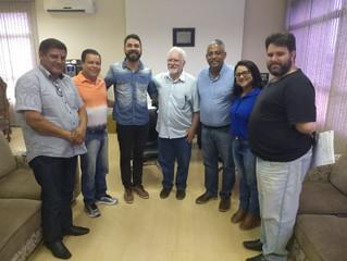 Câmara recebe sindicato dos servidores de São Vicente