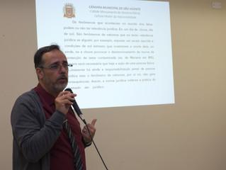 """Câmara de São Vicente cria iniciativa """"Escola do Legislativo"""""""