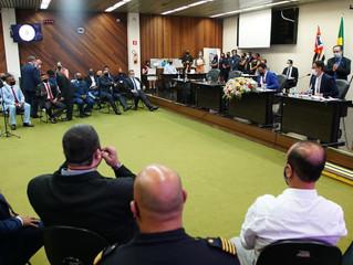PROFESSOR THIAGO É ELEITO PRESIDENTE DA CÂMARA DE SÃO VICENTE