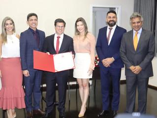 Paulo Mendes, do Grupo Mendes, é condecorado cidadão vicentino