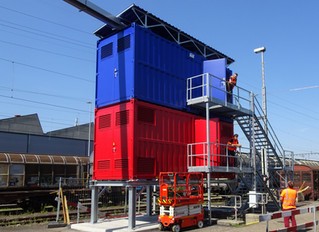 SBB Cargo AG, IBN Mehrspannungsprüfanlage in Muttenz