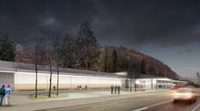 Neubau Bahnhof Waldenburg,                           BLT Baselland Transport AG