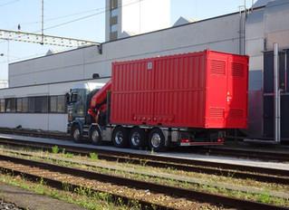 SBB Cargo AG, Mehrspannungsprüfanlage in Muttenz
