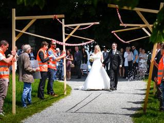 Die Hochzeit von Jenny & Kevin hat Corona getrotzt!
