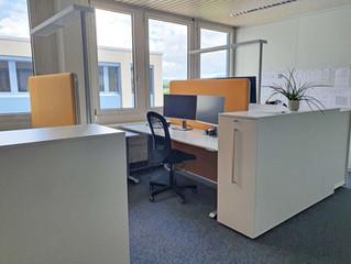 Neue Büroräumlichkeiten an der Riedstrasse 1 in Rotkreuz