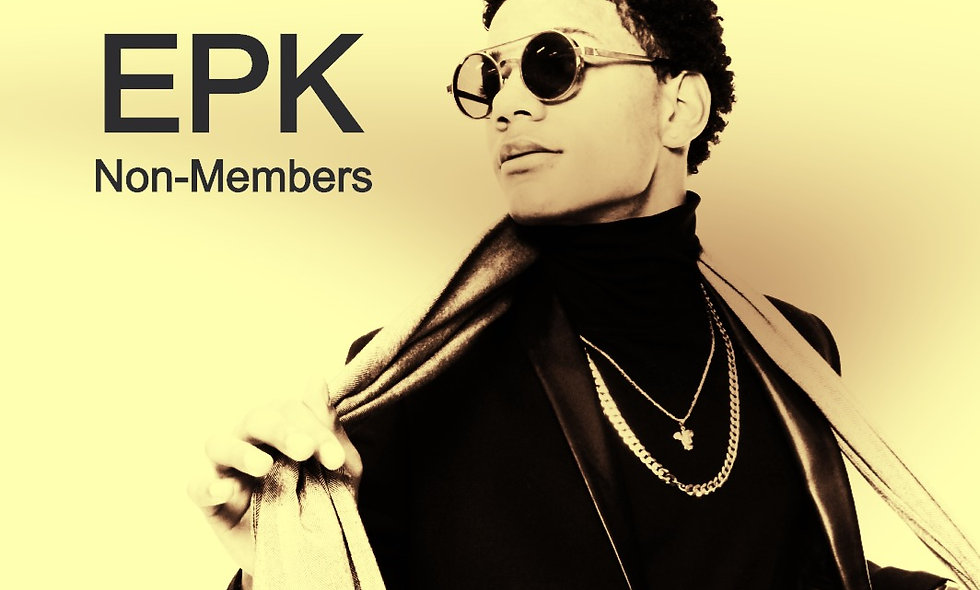 EPK Design by Sally b.