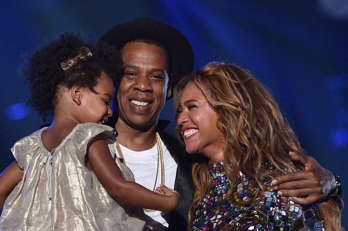 Proud Parents, Beyonce and Jay-Z