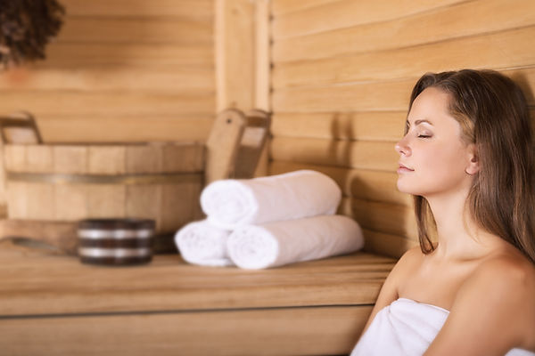 Sauna Facility Available