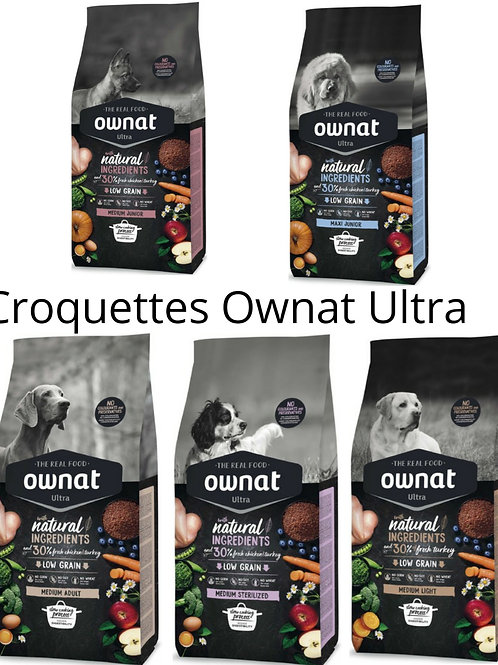 Croquettes Chien Ultra