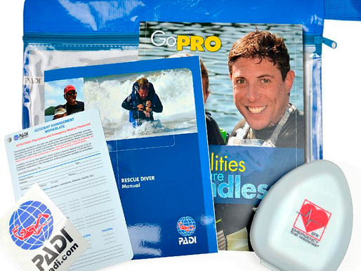 Padi Rescue Diver+Oxygen Provider