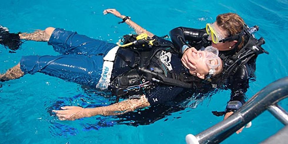 Padi Rescue Diver + Oxygen Provider #1