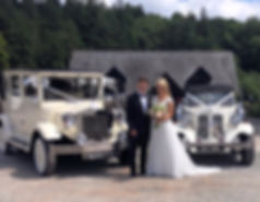 Vintage 7 Seater Wedding Cars Hire Newport
