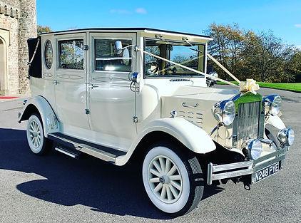 Vinrtage Imperial Wedding Car Cardiff