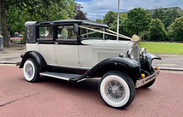 Mayfair Vintage Wedding Car Cardiff