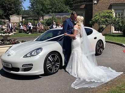 Supercar Wedding Car Cardiff, De Courceys Manor