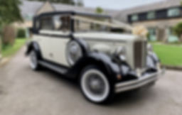 Vintage Regent Wedding Car Chepstow