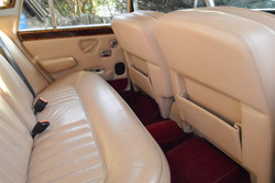 Wedding Cars Cream Leather Interior