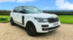 Range Rover Hire Wedding Cars in Pontypridd