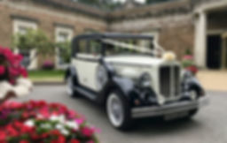 Vintage Regent Wedding Car at De Courceys