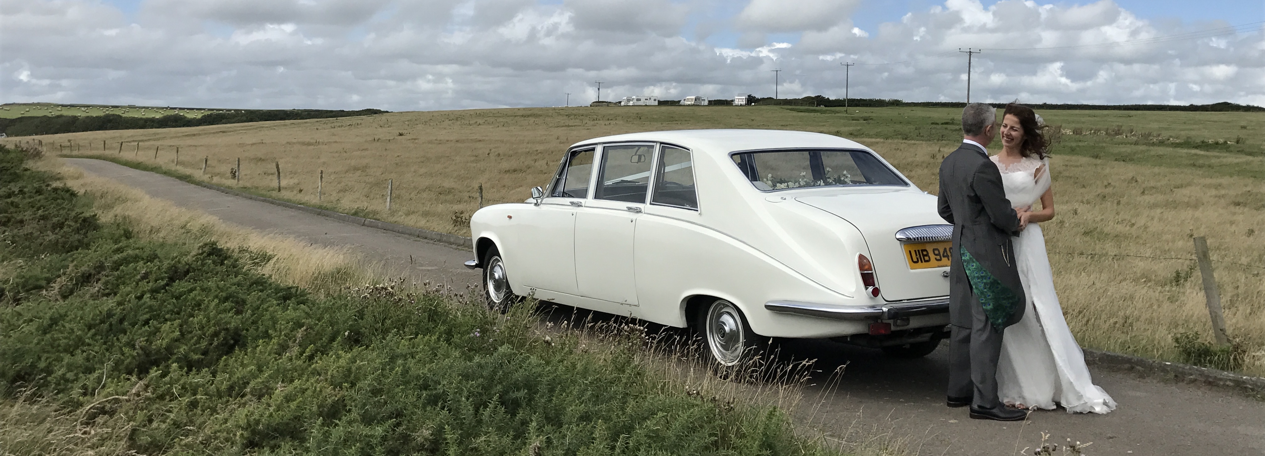 Classic Daimler Limousine To Hire For Weddings Cwmbran South Wales
