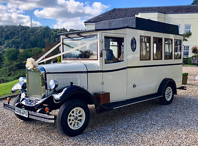 Vintage Wedding Bus South Wales