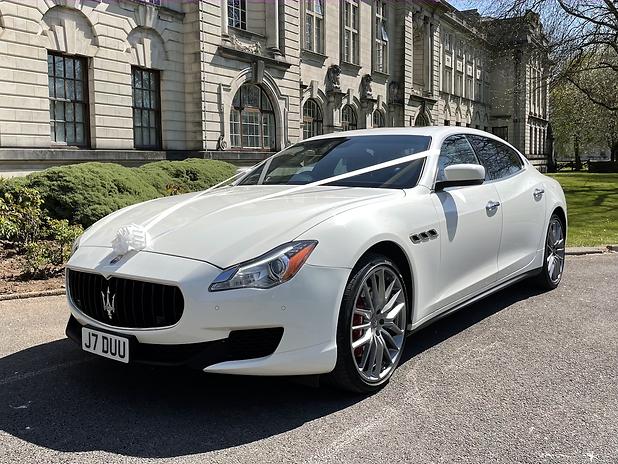 Maserati Wedding Car Cardiff, Newport, S