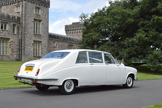 Daimler Wedding Car Hire Cardiff