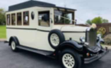 Vintage Wedding Bus in South Wales