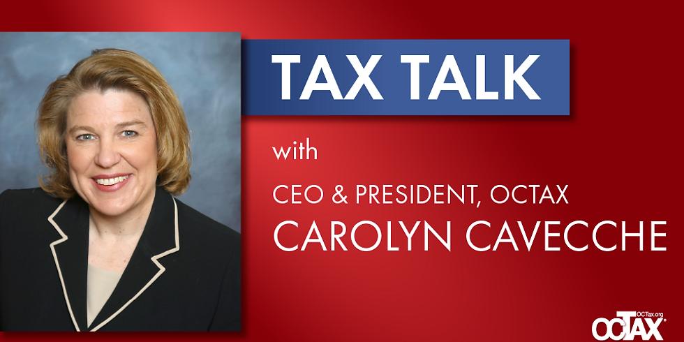 Tax Talk: OCTax CEO & President Carolyn Cavecche