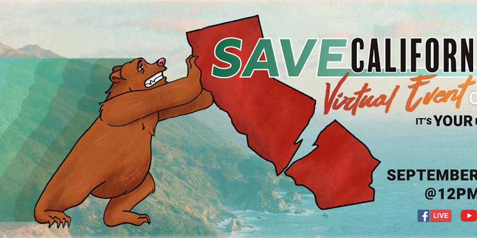 Save California: Virtual Event