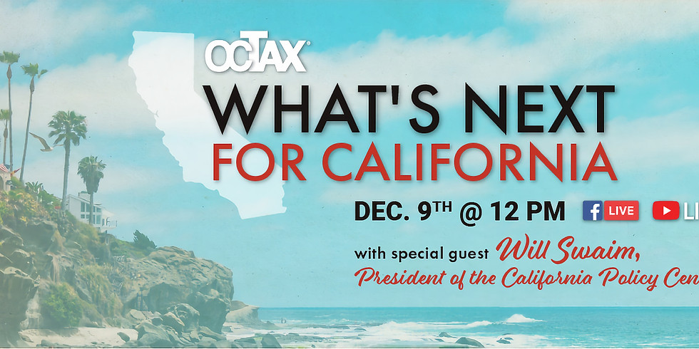 What's Next for California?