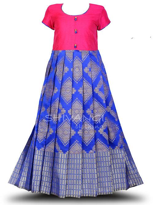 Shivangi Blue Diamond Long Gown