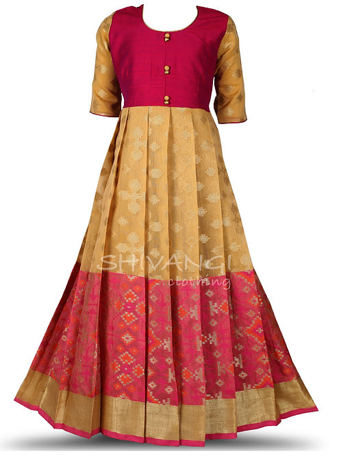 Shivangi Butta Patola Long Gown