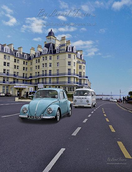440A2 1970's VW Beatle & Campervan