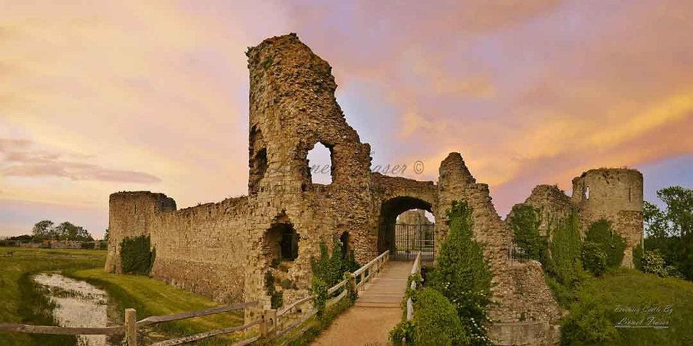 230C Pevensey Castle Panorama