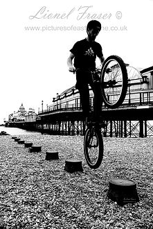 Stunt Bike at Eastbourne Pier