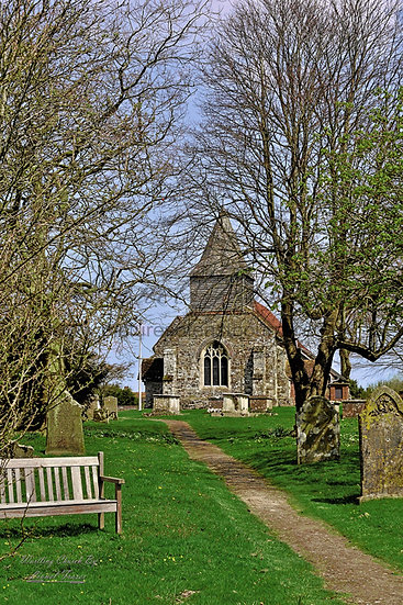 139C Wartling is a village church