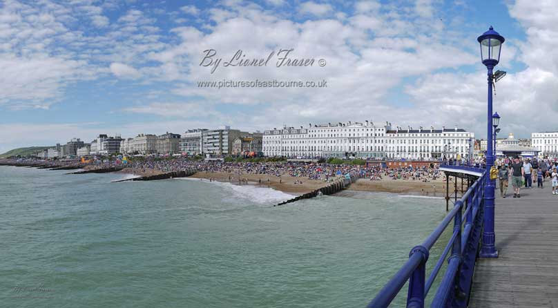 116A1 Eastbourne seafront from the pier