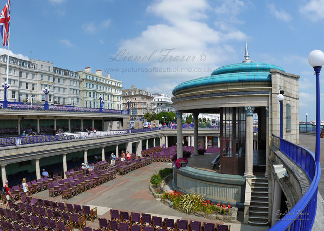 112D Eastbourne Bandstand and Hotels