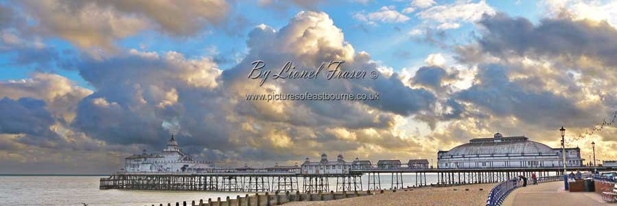 108P3 Sunrise at Eastbourne Pier