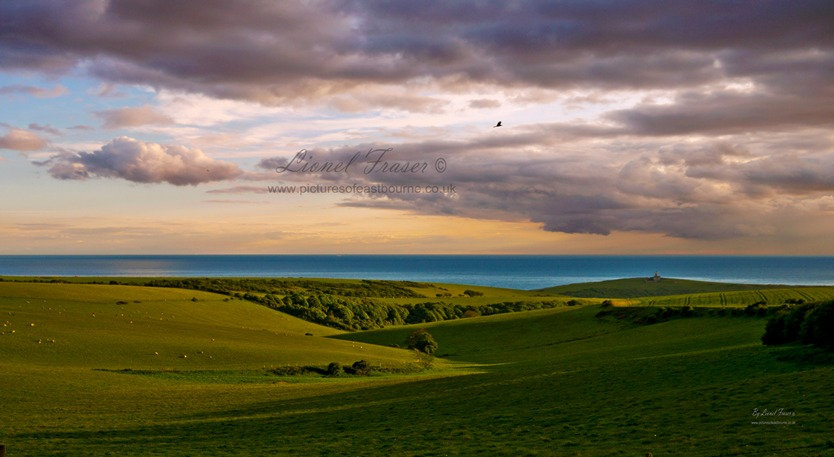 102H2 Beachy Head Sunset