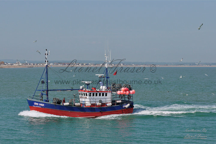151B Eastbourne, Fishing Boat coming back home
