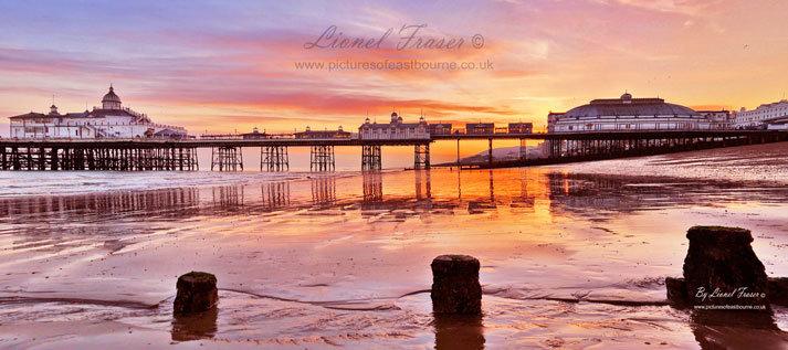 108A1 Eastbourne Pier Sunset