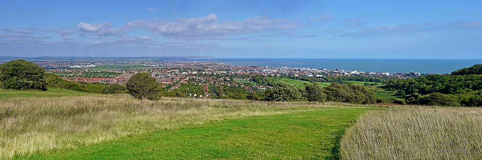 160C2 Panoramic view over Eastbourne