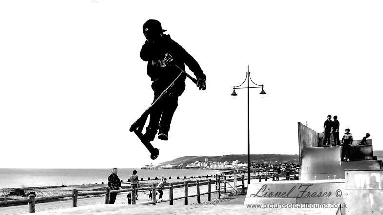 430A2 Sovereign skatepark Eastbourne