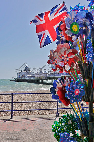 SP103B Eastbourne Pier Union Jack Flag